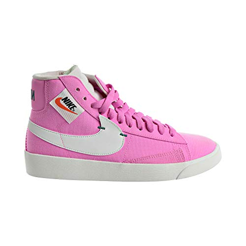 Nike W Blazer Mid Rebel basketbalschoenen voor dames, wit