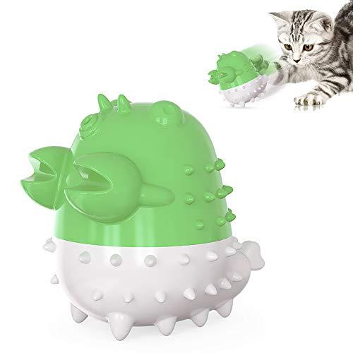 Juguetes para limpieza de dientes para gatos, con Catnip