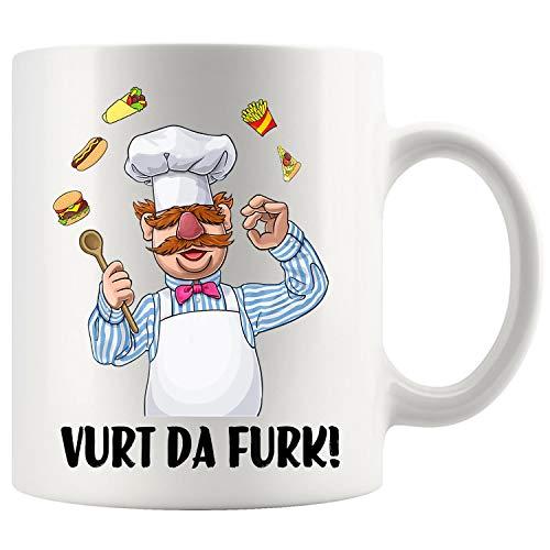 Chef Vurts Da Furks Coffee Mug 11oz Tea Cups Gift