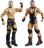 WWE- Pack de 2 Figuras de acción, Bo Dallas y Curtis Axel (Mattel GBN50), Multicolor