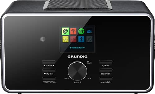 "GRUNDIG DTR 6000 X ""All-In-One"" Radio Black"