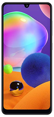 Samsung Galaxy A31 (Prism Crush White, 6GB RAM,...