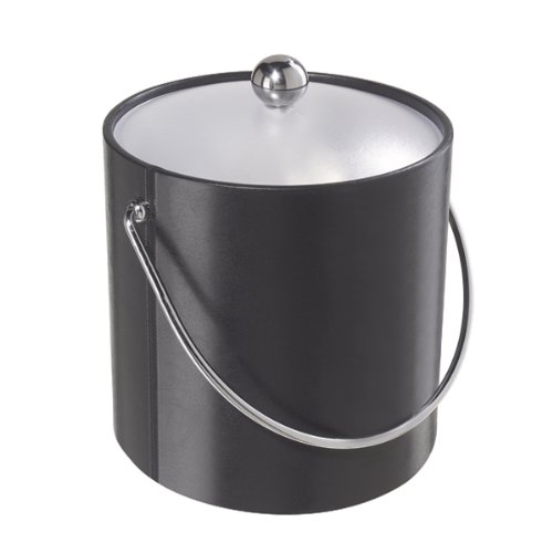 Oggi Ice Bucket, 3 Quart, Black