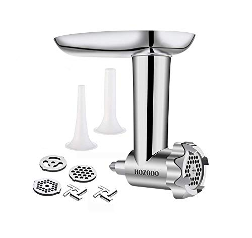 Our #5 Pick is the Hozodo Metal Food Meat Grinder Attachment