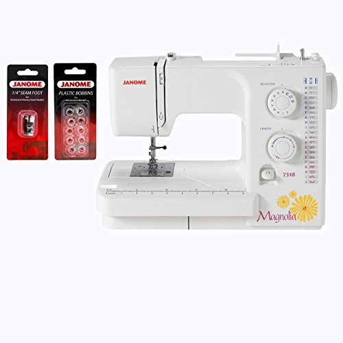Janome Magnolia 7318 Sewing Machine with...