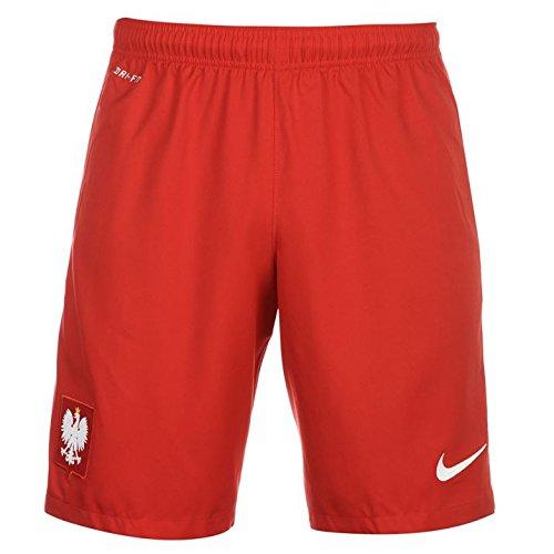 Nike Offizielle Pol M H/A Stadium Short Kurze Hose S Weiß/Rot