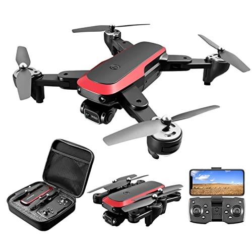 JJDSN Mini dron con cámara Dual 4K, dron para niños Adultos Principiantes, retención de altitud, Volteretas 3D, Modo sin Cabeza, cuadricóptero RC de posicionamiento de Flujo óptico de 20 Minutos