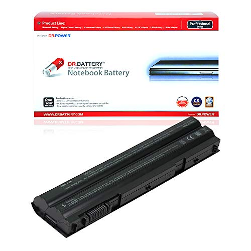 DR. BATTERY Compatible with Dell Laptop Battery T54FJ Battery E6530 E6430 Dell Battery Latitude E6420 Laptop Battery 5420 Dell NHXVW Battery 08858X Dell P15G Battery 71R31 Dell [49Wh/4400mAh/11.1V]