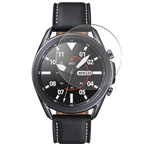 Vaxson 3 Unidades Protector de Pantalla de Cristal Templado, compatible con SAMSUNG galaxy watch3 watch 3 41mm, 9H Película Protectora Film Guard Nueva versión