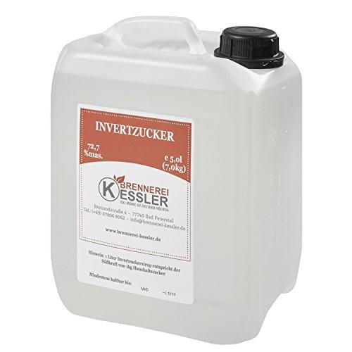 Invertzucker - Flüssigzucker 5 Liter (7kg) 72,7% mas.