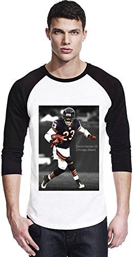 American-Football-Chicagdo-Bears-Devin-Hester Unisex Baseball Shirt Large