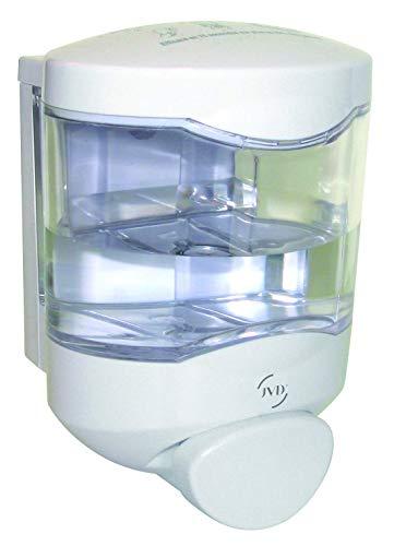 JVD Spender für Desinfektionsmittel, für WC-Sitz, WC-Deckel, WC-Becken, weiß, Toilettenhygiene