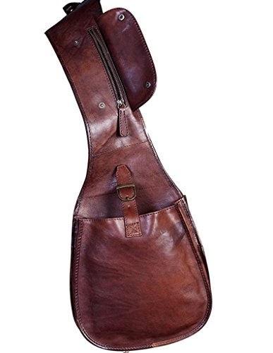 Scully Mens Wahmaker Classic Saddle Bag Leather One Size