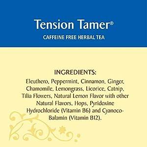 Celestial Seasonings Herbal Tea, Tension Tamer, 20 Count (Pack of 6)
