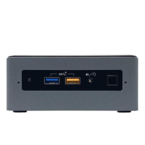 Intel NUC8I7BEH Mini PC NUC Kit - 8th Gen Intel Quad-Core i7-8559U Processor up to 4.50 GHz, 16GB DDR4 Memory, 256GB NVMe Solid State Drive, Intel Iris Plus Graphics 655, Windows 10 Pro (64-bit)