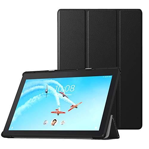 TiMOVO Lenovo Tab E10 10.1 Inch 2019 Release Tablet Funda, Funda Ultra Fina y Liviana Compatible con la Tableta Lenovo Tab E10 - Negro