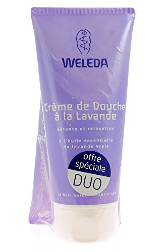 Weleda Lavender Creamy Body Wash 2 x 200ml