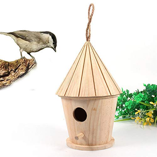 LIIYANN Holzgarten Vogelkäfige Nester Vogelhaus die Wärme des Frühlings