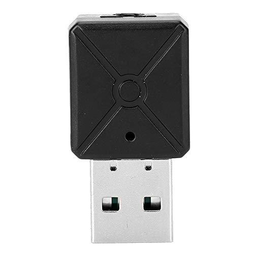 Seacanl Adaptador Bluetooth, Adaptador Bluetooth para automóvil, Funcionamiento Conveniente Modo transmisor Amplia compatibilidad para televisores sin Bluetooth, Sistemas estéreo domésticos