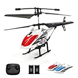 DEERC DE51 Remote Control Helicopter Altitude Hold RC Helicopters with Gyro for Adult Kid Beginner,2.4GHz Aircraft...