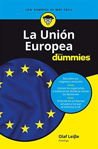 La Unión Europea para Dummies (English Edition)
