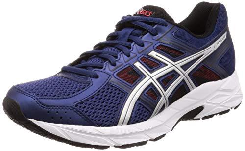 ASICS Men's Gel-Contend 4 Running Shoes, Blue (Deep Ocean/Silver 400), 6 UK