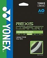 ヨネックス(YONEX) テニス ストリング レクシスコンフォート130 クールホワイト 12m TGRCF130