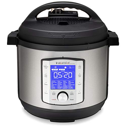 Instant Pot Duo Evo Plus 10-in-1, 8L Electric Pressure Cooker, Sterilizer, Slow Cooker, Rice Cooker, Grain Maker, Steamer, Sauté, Yogurt Maker, Sous Vide, Bake, and Warmer 220V