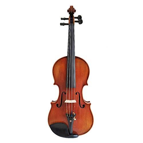 LOIKHGV Copy Stradivarius 1716 100% handgemachte Geist Varnish Violin -Carbon -Faser -Bogen -Schaum -Fall FPVN04# 5, rot