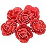 100pcs 3.0cm artificial foam rose heads flower for wreath home wedding party decoration diy handmade accessories