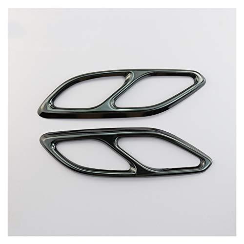 Prospective Accesorios de automóvil Tapa de Escape Tapa de la Cola Ajuste para Mercedes Clay Class C118 W118 2020 Decoración de Estilo Auto Pegatinas y calcomanías (Color Name : Black)
