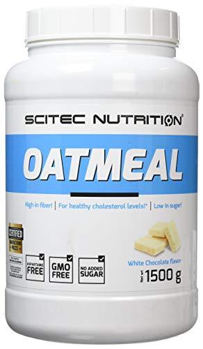 Scitec Nutrition Oatmeal, Gainer, Cioccolato bianco, 1500 g