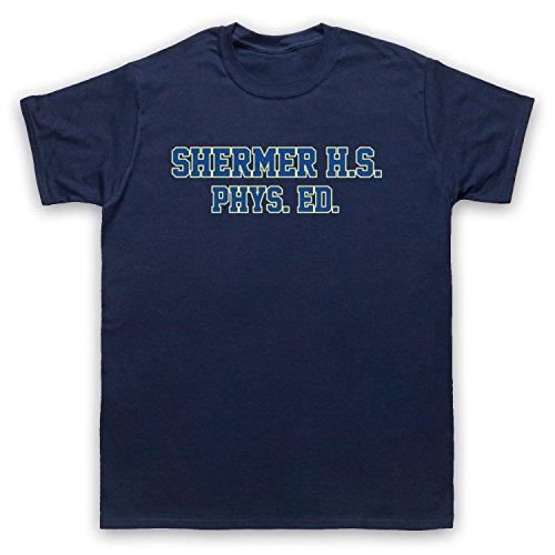 Death To Videodrome Weird Shermer High School PHYS Ed Comedy Sci Fi Film Herren T-Shirt, Ultramarinblau, 2XL
