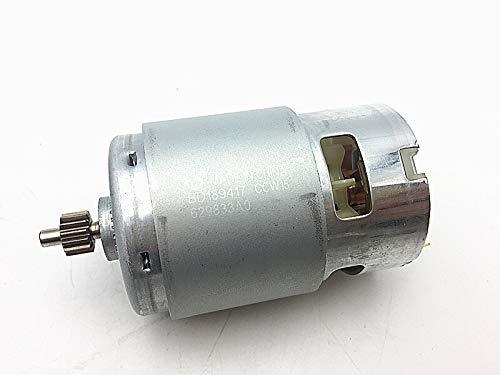 MQEIANG 18V Motor 629834-8 629937-8 for Destornillador Taladro Makita HP457D DF457D BDF453 DDF453 DDF453RFE DHP453 BHP453 8390D