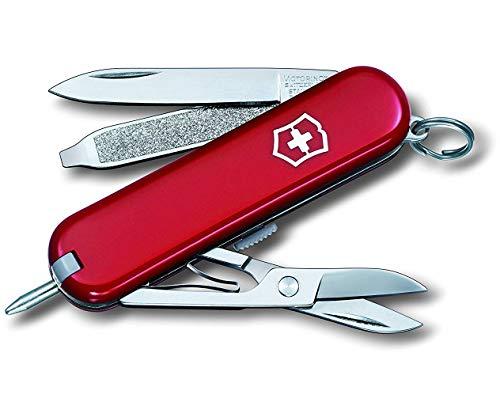 Victorinox Signature Taschenmesser (7 Funktionen, Klinge, Kugelschreiber, Schere)