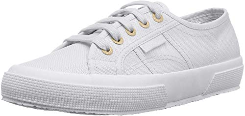Superga Women's 2750 Cotu Classic Sneaker, Pale Gold, 9.5