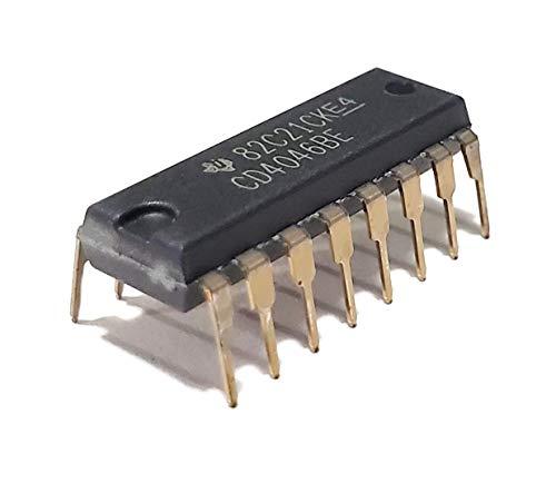 Juried Engineering CD4046BE CD4046B CD4046 CMOS Micropower Phase-Locked Loop Breadboard-Friendly IC DIP-16 (Pack of 5)