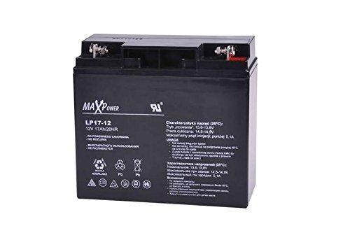MaxPower Gel Batterie Bleiakku 12V 17Ah