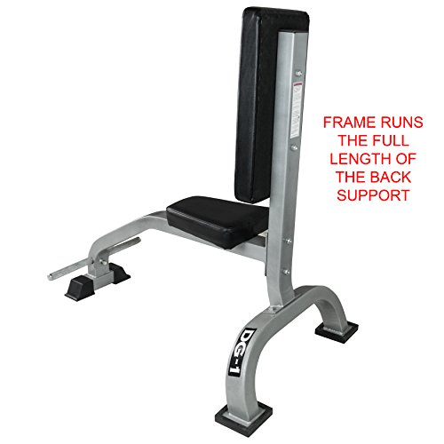 Valor Fitness DG-1 Stationary Upright Bench for Seated Shoulder Presses, Bicep Curls, and Tricep Extensions