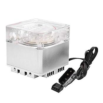 Computer Water Pump 3000RPM Fast Heat Dissipation 800L/H Flow 3.5 Meters Pump Head PC Pump Tank PC Water Cooling Silver