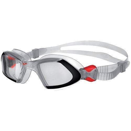 arena 92389/15 Unisex Schwimmbrille Viper,Transparent (schwarz / klar), One Size