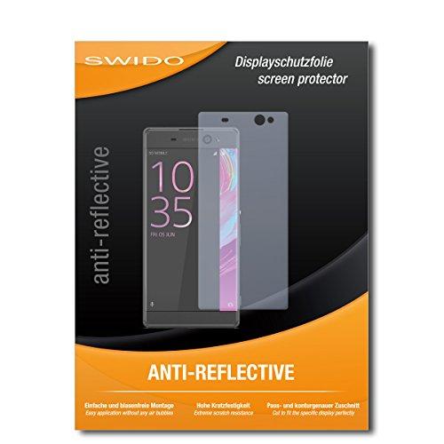 SWIDO Schutzfolie für Sony Xperia XA Ultra [2 Stück] Anti-Reflex MATT Entspiegelnd, Hoher Festigkeitgrad, Schutz vor Kratzer/Bildschirmschutz, Bildschirmschutzfolie, Panzerglas-Folie