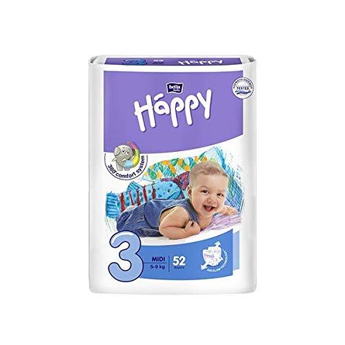 Bella Baby Happy pannolini Midi taglia 3 (5-9 kg) 32 pezzi.