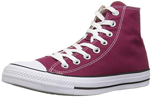 Converse Chuck Taylor All Star, Unisex-Erwachsene Hohe Sneakers, Rot (Maroon), 41 EU