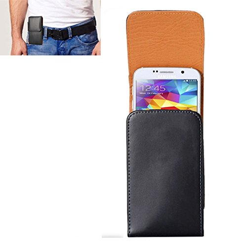YUNCHAO Funda Protectora Textura de Loco Caballo Funda de Cuero con Tapa Vertical/Bolsa de Cintura con tablilla Trasera y for iPhone 8 y Samsung Galaxy S5 / G900 y S7 / G935 Caja del teléfono