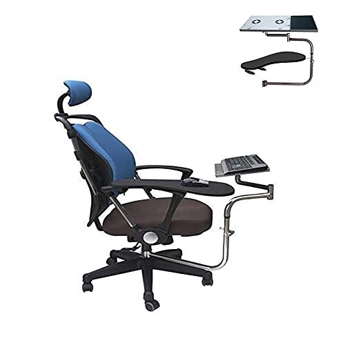 N / B Computer Portatile/Tastiera/Mouse Stand-Mount, 13,8 + 7.3in, Rotazione a 360 ° Ristaggio ergonomico di Sollevamento Pieghevole ergonomico, per Workstation/Videogiochi