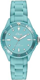 s.Oliver, orologio da polso analogico al quarzo, unisex, con cinturino in silicone