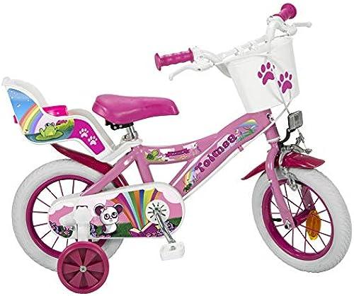 Toimsa Fahrrad 12 Zoll Fantasy 3-5 Jahre 12008, Mehrfarbig