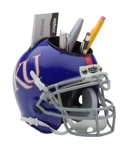 NCAA Kansas Jayhawks Mini Helmet Desk Caddy