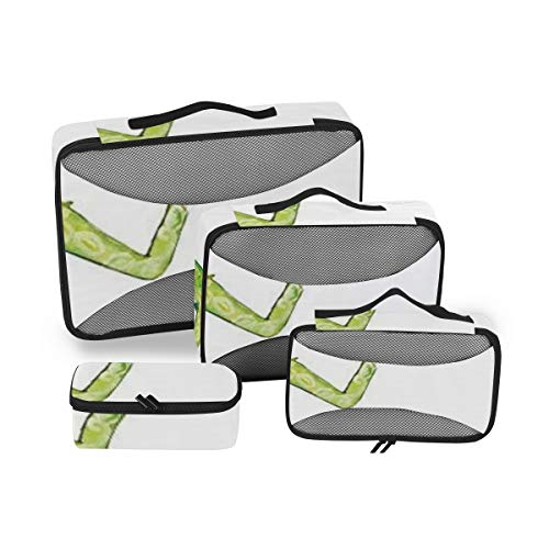 Fashion House Decor 4pcs Large Hanging Travel Toiletry Bag for Men and Women Waterproof Makeup Organizer Bag Wash Bag Shaving Kit Cosmetic Bag for Accessories Shampoo,Bathroom Shower